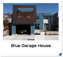 Blue Garage House